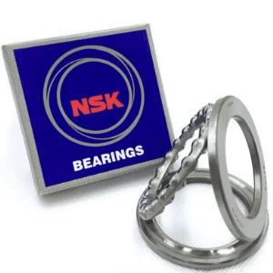 How to correctly install a plane thrust ball bearing?