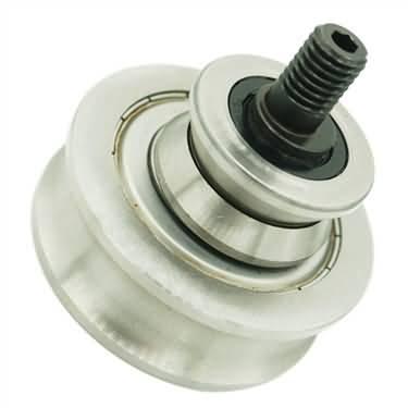 track roller bearings v groove