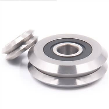 best track roller bearings v groove