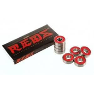 bearing bones skateboard roller skate bearings 608 bones reds abec