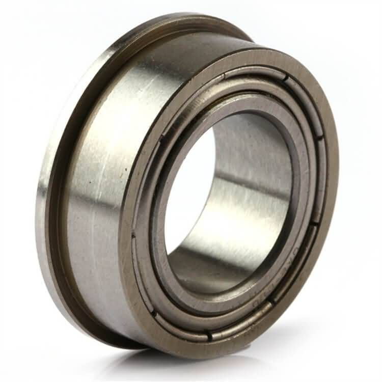 small bearing with flange