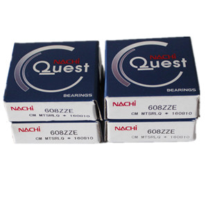 Nachi Deep groove ball bearing 608 original nachi double row ball bearing