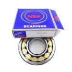 Precision single row roller bearing nsk nu bearing