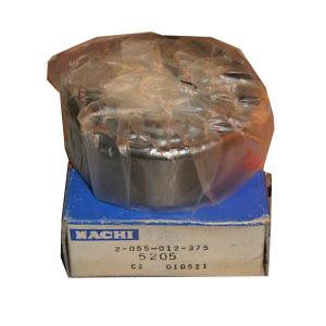 nachi distributors Double Row Angular Contact Ball Bearing 5205 famous nachi bearing
