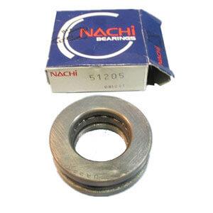 nachi bearings japan Thrust ball bearing 51205 nachi quest bearing 25*47*15mm
