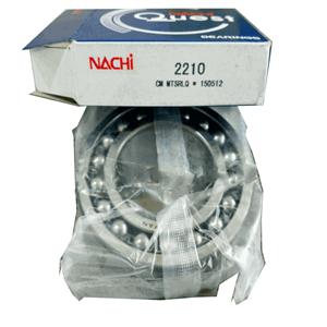 precision nachi bearing 2210 self-aligning ballbearingnachi ball bearing supplier 50x90x23mm