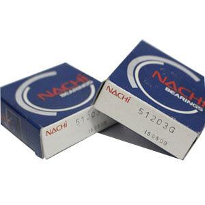 Original NACHI 51203 thrust bearing diagram thrust bearing vs journal bearing