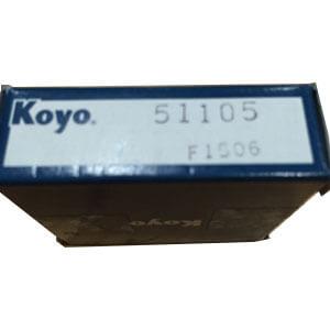 thrust bearing load capacity original KOYO 51105 thrust bearing meaning 24*42*11mm