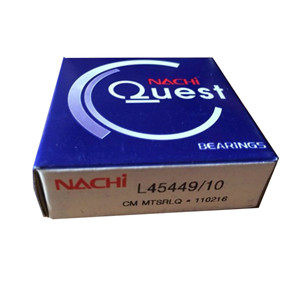 nachi quest L45449/10 radial taper roller bearing nachi bearings review