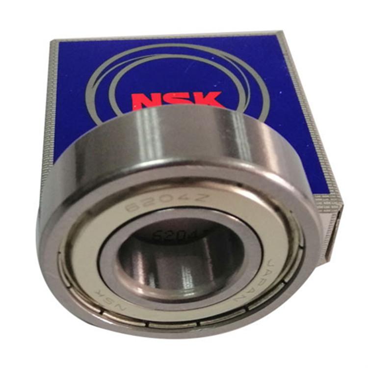 NSK bearing china 6204 spindle ball bearing