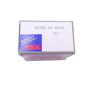 NSK UC208 rudder bearing material UC pillow bearing UC208D1
