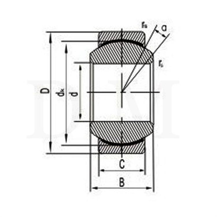 stainless steel spherical plain bearings
