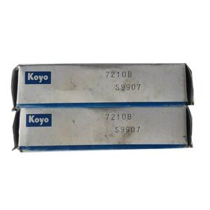KOYO angular contact spindle bearing arrangement 7210B spindle bearing preload