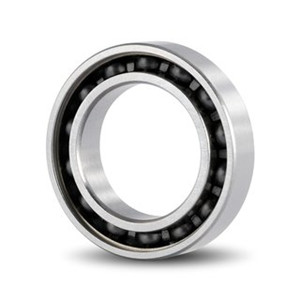 hybrid magnetic bearing with high speed ball bearing 6305