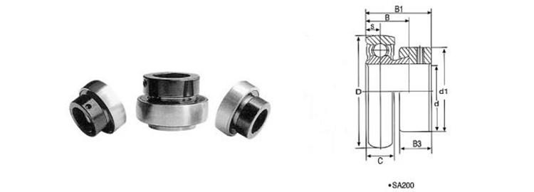 locking collar bearing