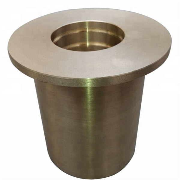 precision flanged sleeve bearing