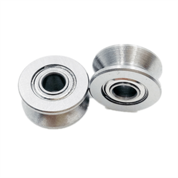 V groove ball bearing wheels 624VV v groove casters