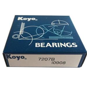 angular bearing definition KOYO 7207 bearing 7207B