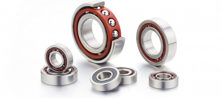 angular contact ball bearing mounting
