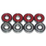 reds bones skateboard bearing 608 rolamento red bones 8*22*7mm