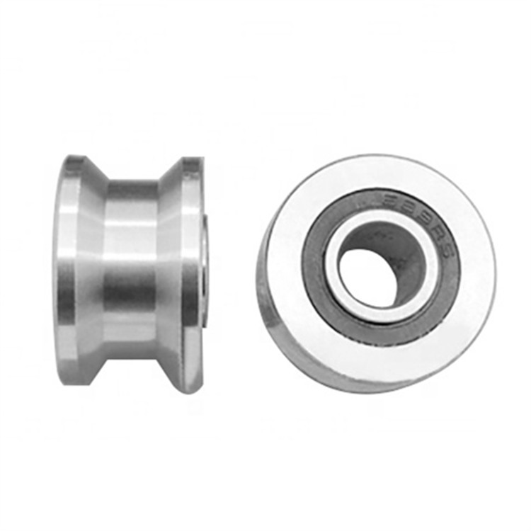 Stainless steel track rollers u groove track rollers