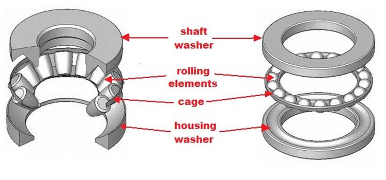 thrust bearing function