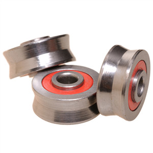 Do you know v groove ball bearing means?