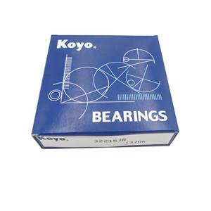 miniature tapered roller bearing KOYO brand 32215 bearing from Japan factory