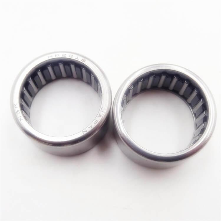 Solid needle roller bearings hk2216 needle bearing nsk supplier