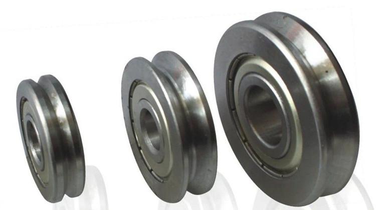 v groove track roller bearing