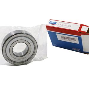 SKF deep groove thrust ball bearing distributor supply SKF 6306 zz c3 bearing