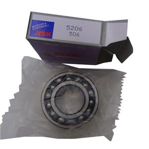 NSK double row angular contact ball bearing number 5206 radial contact ball bearing