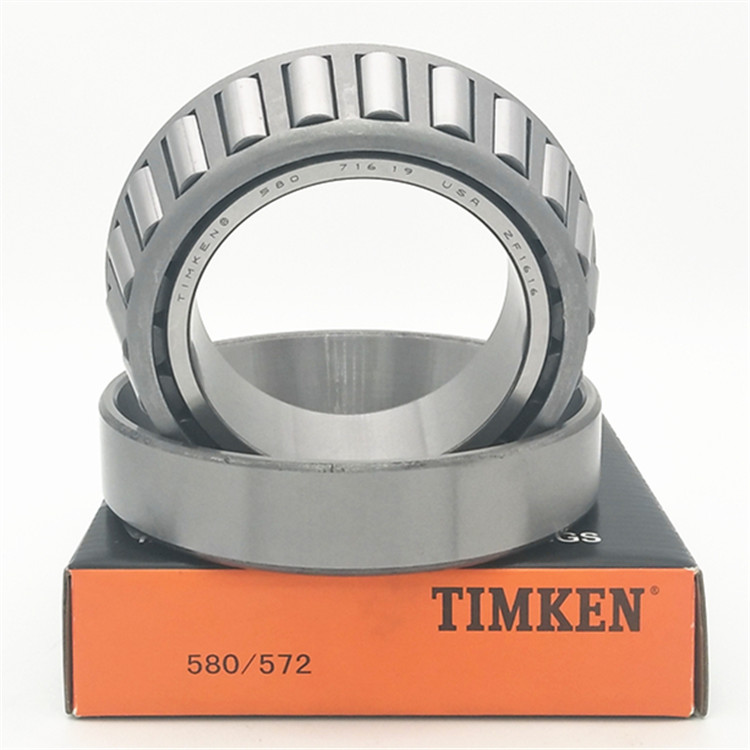 Forklift roller bearing timken double row tapered roller bearings 580/572