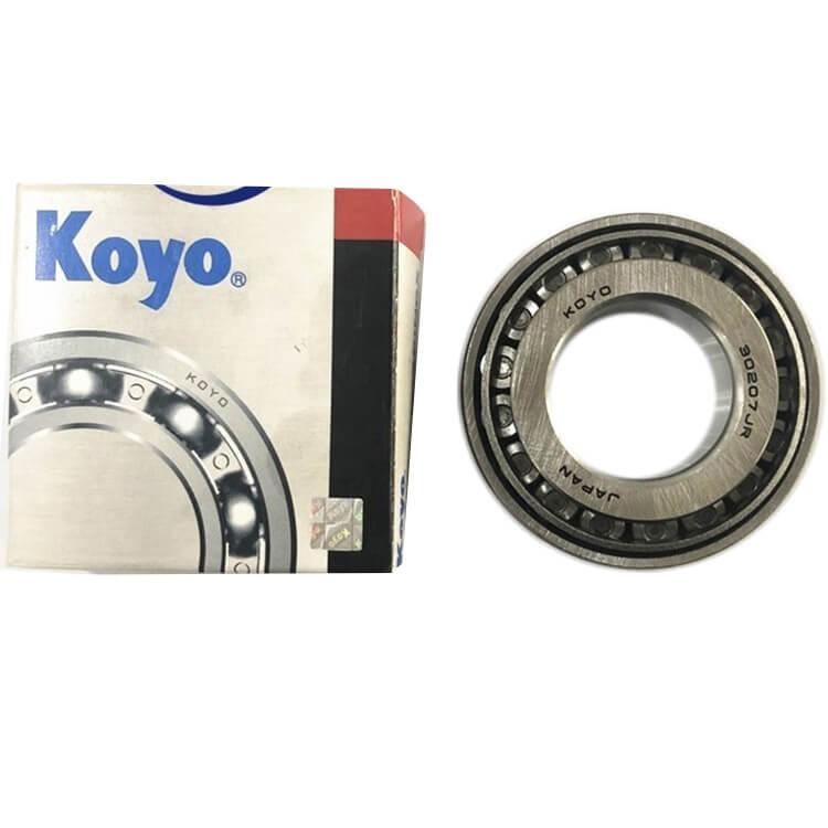 KOYO bearing roller conveyor 30207 bearing price made in Japan