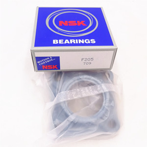 Supply Japan NSK spherical flange bearing F205 self aligning linear sleeve bearings