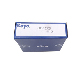 KOYO ceiling fan ball bearing price rubber sealed 6007 bearing price 6007-2RS