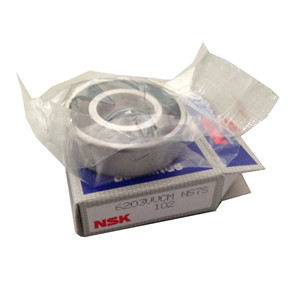 nsk distributor supply original nsk 6203 with no-contact rubber seal 6203VV ball bearing