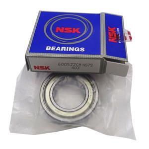 Original NSK 6005 deep groove ball bearing details