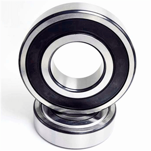 6002 2rs is a deep groove ball bearing with sealing rings on both sides