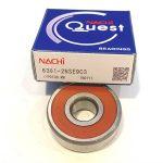 original nachi 6301 2NSE9 deep groove ball bearing 6301 2rs c3 size 12*37*12mm