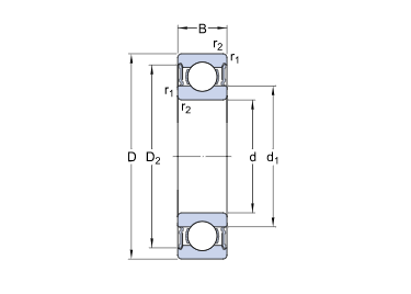 thin wall bearing
