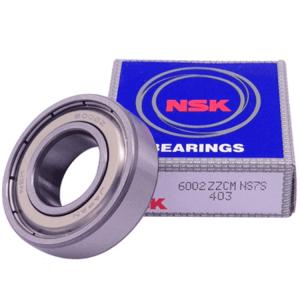 6002 zz c3 original nsk deep groove ball bearing size 15x32x9mm