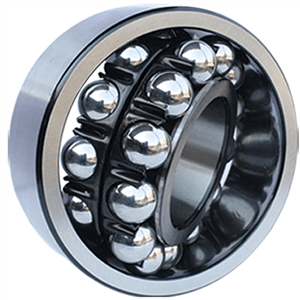 2304 2rs bearing material of cage is steel plate