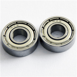R4 zz is small deep groove ball bearing