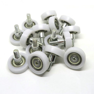 Nylon ball bearing drawer rollers details